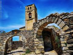 Santa María de Baldós (wuploteg1) Tags: puente montañana huesca aragón iglesia santa maría maria de baldós baldos pirineos pirineo ribagorza pyrenees aragon altoaragón altoaragon spain nuestra señora church