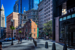 Old State House (Kev Walker ¦ 7 Million Views..Thank You) Tags: americanrevolution architecture boston building canon1855mm canon700d city citycentre digitalart freedomtrail hdr historic massachusetts usa unitedstates