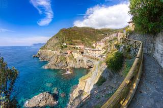 Riomaggiore - Cinque Terre HDR