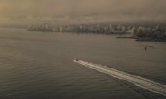 Vancouver, Canada (Photo Alan) Tags: foggy leicam10 leicasummarit5cmf15 vancouver canada water sea city cityscape cityofvancouver cloud clouds ship architecture
