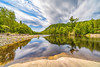 Way up the Sand River (Sean Lancaster) Tags: images ultrawide sony1424 32 sony lakesupiorprovincialpark stacked this clouds smooth together sandriver sonya7rii water 1424 emount camera movement canada is a7rii ontario give