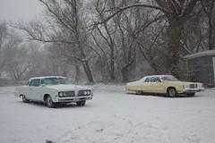 1978 Chrysler New Yorker Brougham & 1964 Imperial Crown Coupe (DVS1mn) Tags: 1980dodgestregis 1978chryslernewyorkerbrougham1964imperialcrowncoupe mycar 80 78 64 1980 dodge stregis crowncoupe imperial chryslercorporation chryslerimperial newyorkerbrougham newyorker chryslernewyorkerbrougham mopar mopars luxury