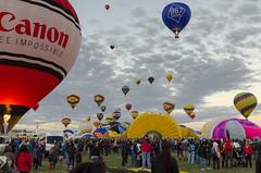 Albuquerque International Balloon Fiesta 2017 - 11 (rschnaible) Tags: albuquerque international balloon fiesta new mexico hot air flight transportation sport color colorful outdoor