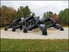 GlenstoneSculptureSmugTonySmithLanddscape (Zzzzt!Zzzzt!) Tags: glenstone glenstonemuseum sculpture landscape smug tonysmith