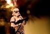 Stormtrooper (mpalmer934) Tags: stormtrooper ornament lights pine sun scene macro effect surreal wars star tree christmas