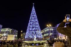 Madrid Navidad 2017 (estebanjvr) Tags: madridciudad nocturnas navidad puertadelsol españa spain madrid comunidaddemadrid es