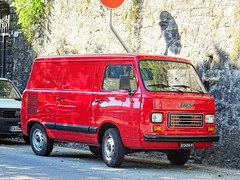 1984 Fiat 900 E (Alessio3373) Tags: van oldvan furgone minivan fiat fiat900e 900e oldcars classiccars autoshite targhenere blackplates