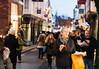 Street food and bokeh (DavidHowarthUK) Tags: york city northyorkshire december 2017 streetphotography signa50mm14art bokeh chips streetfood eating