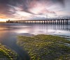A cold and windy sunrise (Gary Eastwood) Tags: jetty ocean sunrise cloudsstormssunsetssunrises beacheslandscapes longexposure ndfilter clouds pier