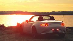 Lovely sunset (.:ariesps:.) Tags: ps4 granturismosport mazdaroadster roadster sunset