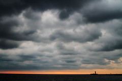 Morning (mikejesus) Tags: canon canon7d canoneos7d canongang clouds sunrise toronto lakeontario lake nature winter