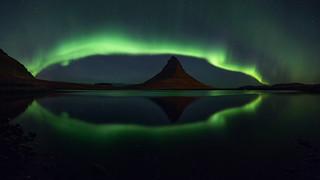 Famous Kirkjufell mountain