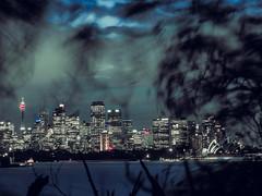 stormy sunset (bart.kwasnicki) Tags: sydney australia storm sunset skyline skycraper ocean cityscape city
