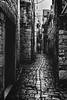 Trogir, Croatia (pas le matin) Tags: nb bw monochrome travel voyage city trogir croatia croatie noiretblanc blackandwhite street ruelle hrvatska ville canon 7d canon7d canoneos7d eos7d