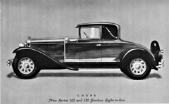 1929 Gardner Series 125 and 130 Coupe (aldenjewell) Tags: 1929 gardner series 125 130 coupe brochure