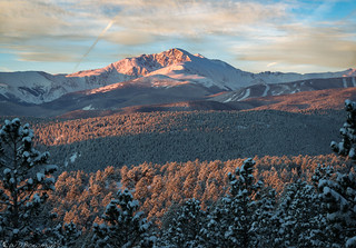 James Peak at first light