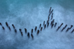 Koh Lanta (photosenvrac) Tags: ciel citadelle nuage ocean piquet poselongue saintmalo tempete vague