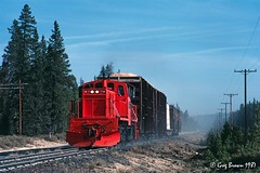The Klamath Northern (C.P. Kirkie) Tags: klamathnorthernrailway knor klamathcounty cascaderange centraloregon oregon shortlinerailroad railroads trains timberindustry ge generalelectric sl144 gesl144