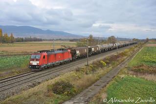 DB: BR 186 337, Rouffach (F)