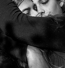 What if (xzwillingex) Tags: people portrait photography photo bw blackandwhite twins twopeople identicaltwins hug