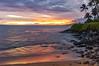 Napili Sunset (Zeta_Ori) Tags: napili napilikaibeachresort napilibay punapoint sunset reflections maui hawaii molokai