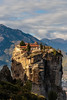 Meteora (CaptSpaulding) Tags: greece meteoramonasteries meteora old religious red monasteries byzantine monks hills mountains sky canon color contrast clouds closeup church mountain mountainside