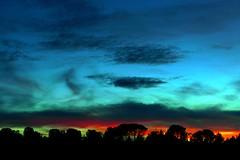 El Pinarillo (Segovia) (alfonsocarlospalencia) Tags: pinarillo segovia atardecer luz azul transparencia belleza naranja amarillo recuerdos infancia cementerio judío paseos negro nostalgia nubes árboles 1001 contraste