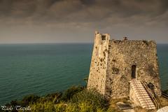 Torre di Monte Pucci (paolotrapella) Tags: torre tower montepucci gargano peschici italy mare europe sky clouds panorama landscape puglia seascape