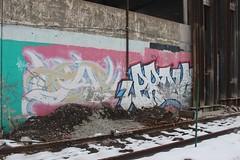 Baye, Prove (NJphotograffer) Tags: graffiti graff new jersey nj trackside rail railroad baye ox crew prove