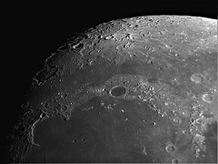 Better editing job with RegiStax6 (sparkdawg068) Tags: space weather moon lunar skyris sharpcap 1370mm 150mm 6 registax6 astrograph telescope crater craters