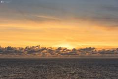 Clouds on the horizon (technodean2000) Tags: clouds horizon southerndown south wales coast sunset sea sky welsh nikon d810