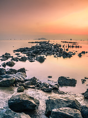 endless (letung0793) Tags: stone sunset smooth shape scenic texture textured watershed wet water wallpaper view round rock flowing landscape flow blue background low natural river pebble pattern nature abstract vietnamese sky cloud countryside a6000 kit 1650 f3556 sony emount