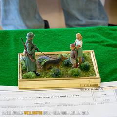 D1 - German field police with guard dog and children - Geoff Warren