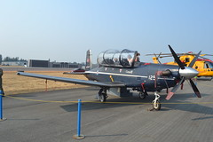 156125 (LAXSPOTTER97) Tags: airport aviation 2017 abbotsford international airshow cyxx airplane royal canadian air force rcaf raytheon aircraft company ct156 harvard ii cn pf25 15 wing 2 forces flying training school 156125 cffts
