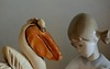 Pelican Harrassment (ricko) Tags: pelican girl ceramics figurines 320365 2017