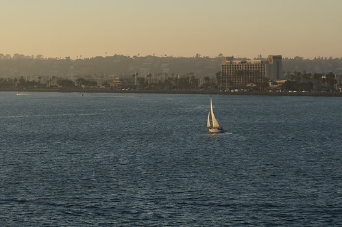 "A Sailboat in the San Diego Bay • <a style=""font-size:0.8em;"" href=""http://www.flickr.com/photos/28558260@N04/38434266621/"" target=""_blank"">View on Flickr</a>"