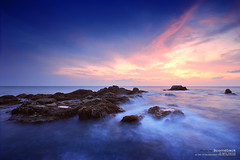 l2.3 (pattana92392) Tags: seawave sea longexposure sunset coast water fineart stone