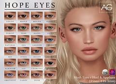 AG. Hope Eyes @Shiny Shabby (Avi-Glam) Tags: eyes ag aviglam shiny shabby sl second life appliers mesh