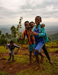 Saware Boys (Rod Waddington) Tags: africa african afrique afrika äthiopien ethiopia ethiopian ethnic etiopia ethnicity ethiopie etiopian wollaita wolayta wollayta tribe traditional tribal boys group landscape saware village people culture cultural children