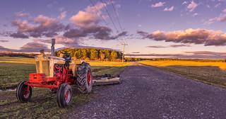 Autumn Fields Panorama