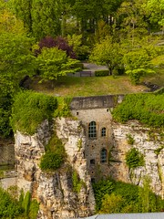 Cliff battery on the Rham plateau - Luxembourg