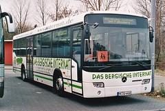 Bergisches Internat, Erkrath ME-Q 4466, MB O 345 H, Köln-Buspark, 11.12.2003 (Uwe aus Köln) Tags: meq 4466