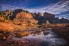 A moment of reflection   Sedona, AZ (zwainhaus) Tags: sedona rock mountain morning reflection water calm still arizona desert cliff landscape vista nikon tamron