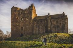 Finally! (der_peste) Tags: castle dounecastle outlander gameofthrones scotland montypython stirling doune scotishcastle sky travel travelphotography unitedkingdom photographers selfie