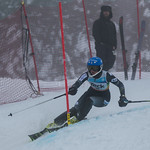 FIS Coaches Cup Sun Peaks Ladies SL-3rd place Ella Renzoni (WMSC) PHOTO CREDIT: Chris Naas