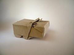 Hippo Cigarette Case - Yoshihisa Kimura (Rui.Roda) Tags: origami papiroflexia papierfalten case box boite caja caixa hipopotamo hippo cigarette yoshihisa kimura