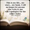 My Life, My Story (learninginlife) Tags: apologize letanyoneelse mybook mylife mystory