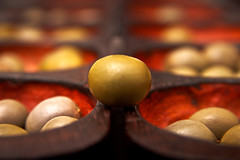 Oware (Mancala) (places_lost) Tags: macromondays member'schoicegamesorgamepieces holz wood game spiel afrika