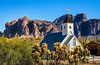 Apacheland (Jae at Wits End) Tags: view natural landscape desert church nature outdoor rural picturesque religion religious country outside spiritual museum scenic building architecture structure exterior phoenix places geological