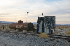 Tanks (Arrowhead Fan) Tags: imperial pacific railroad pir sdae san diego eastern arizona california ca carrizo gorge czry tank car water bjrr baja